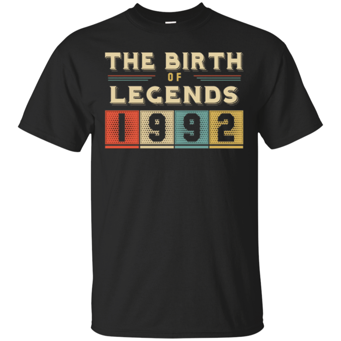 Retro The Birth Of Legend USA 1992 25th Birthday Gift 25 yrs