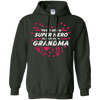 Image of Womens Grandma Superhero TShirt Super Hero Womens Gift Tee