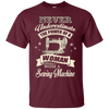 Image of BeeTee: Power Of A Woman With A Sewing Machine T-Shirt