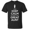 Image of Can't Keep Calm Great Aunt Baby Announcement Tee