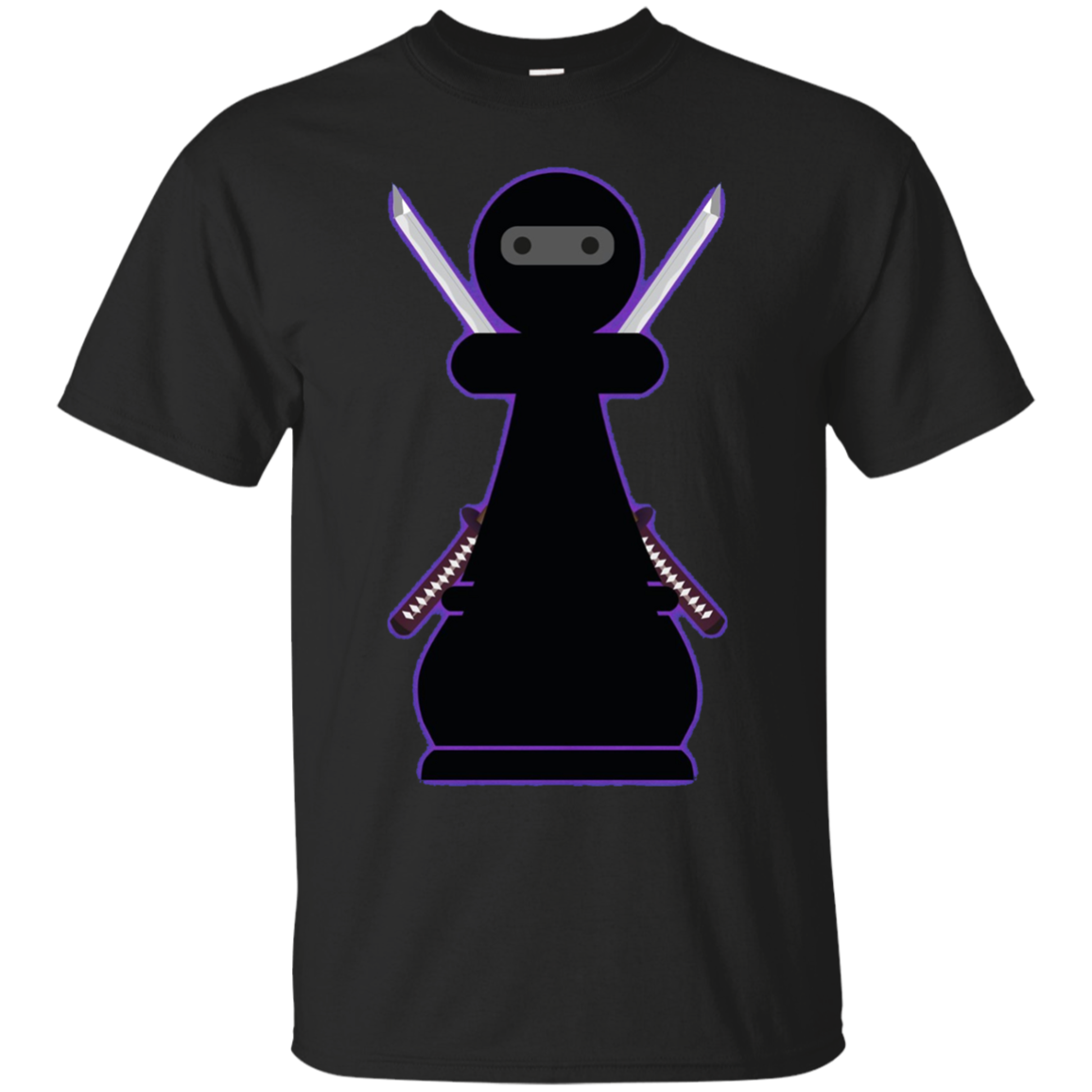 Gift for Chess Player - Chess T Shirt - Chess Ninja Pawn