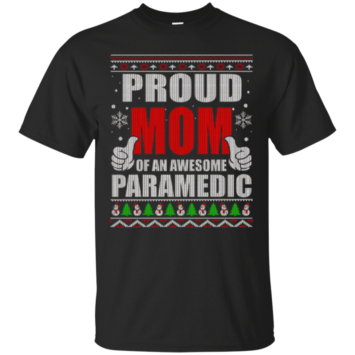Proud Mom Of An Awesome Paramedic T-shirt