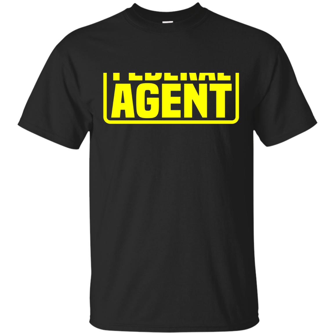 Federal Agent T-Shirt for LEO Off Duty Cops Law Enforcement