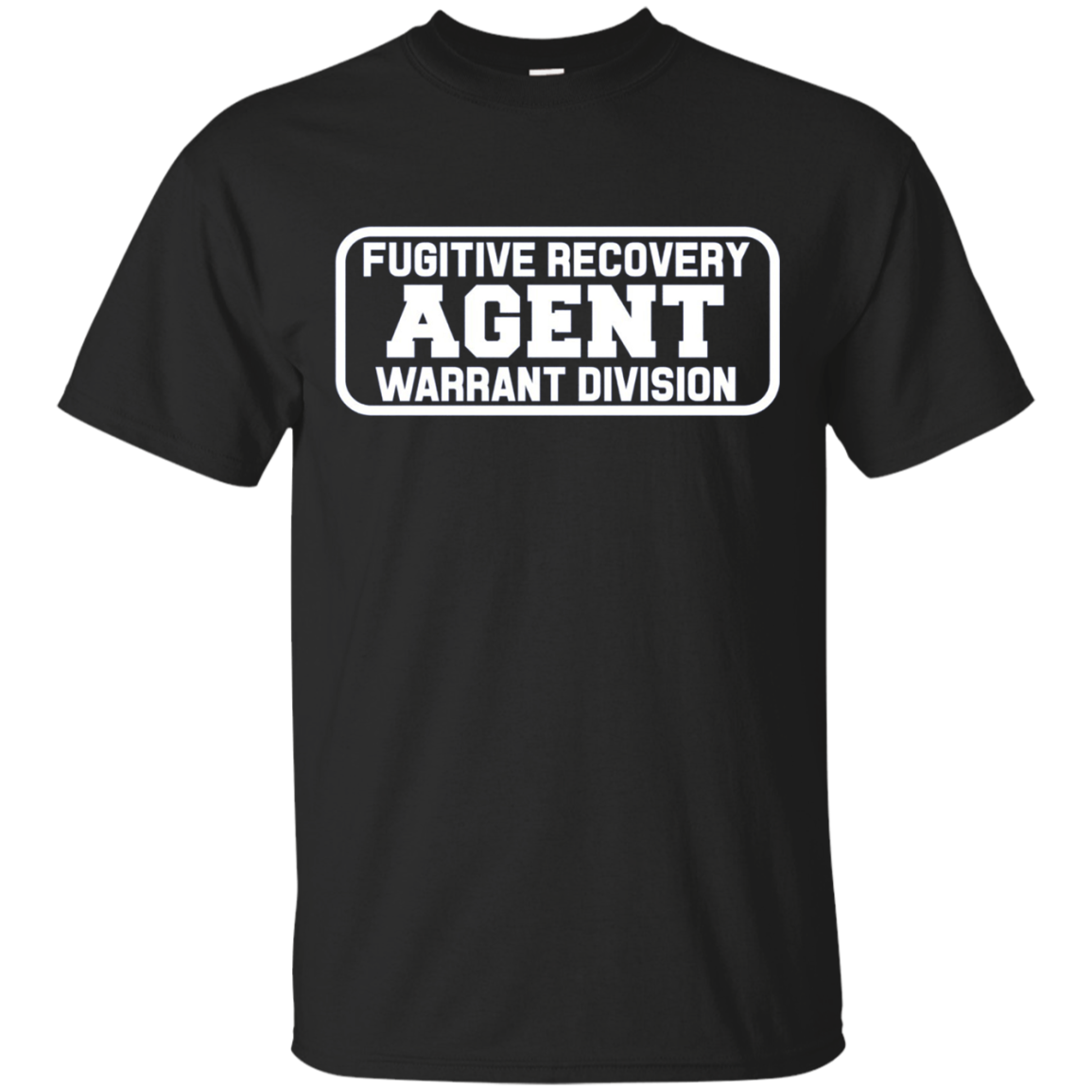 Fugitive Recovery Agent Shirt for Bounty Hunters Bail