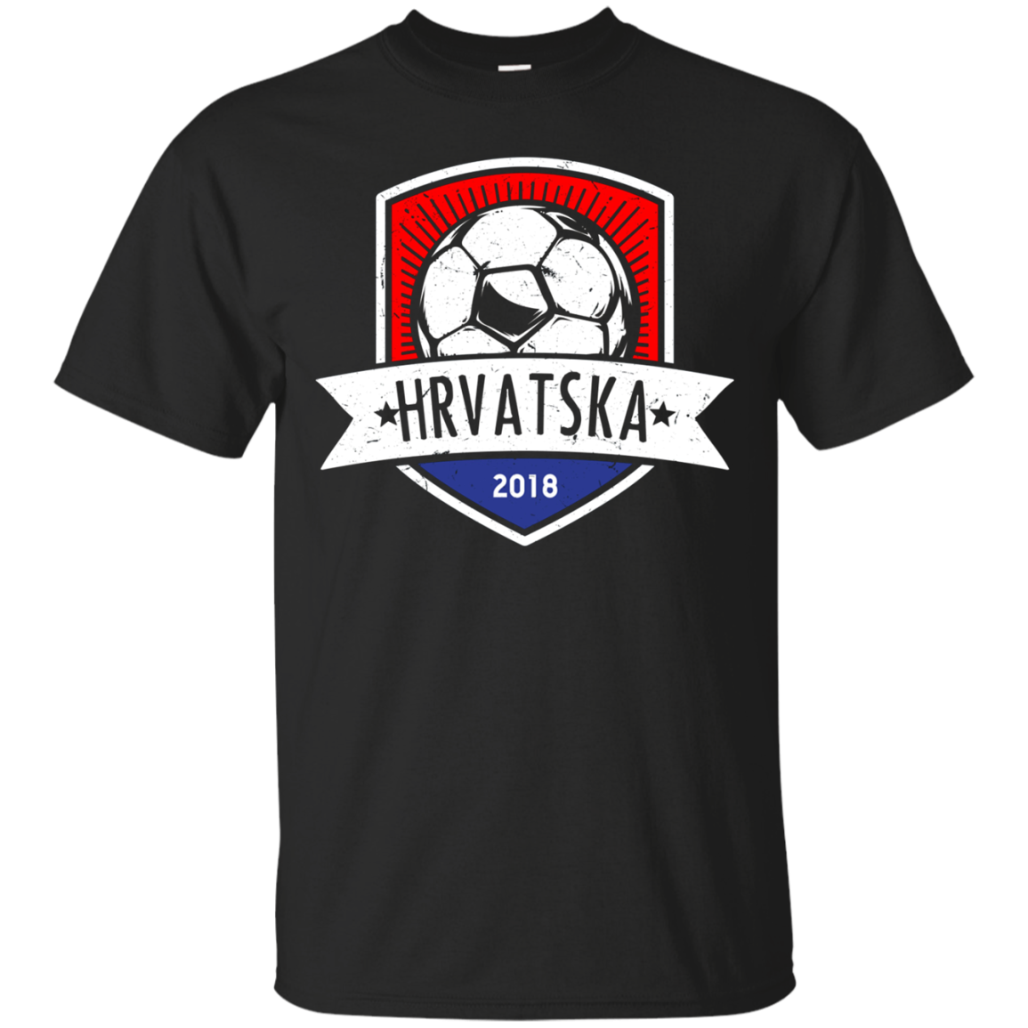 Vintage Croatia Team Shirt 2018