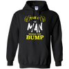 Image of Cute Man Behind the Bump T-Shirt: Baby Announcement Tee