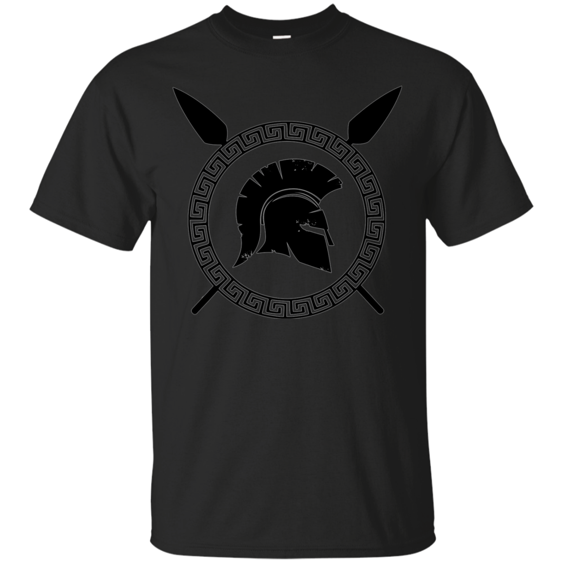 Spartan Warrior Ancient Elite T-shirt