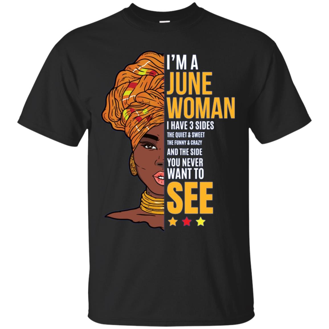 I'm a June Woman Long Sleeve Shirt - Zodiac Sign