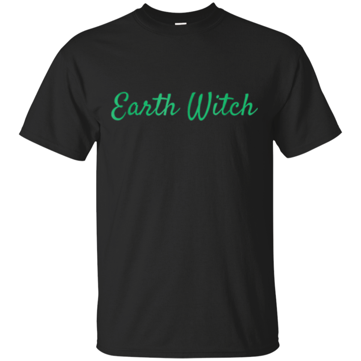 Earth Witch Shirt Pagan Clothing Herbalism and Gardening Tee
