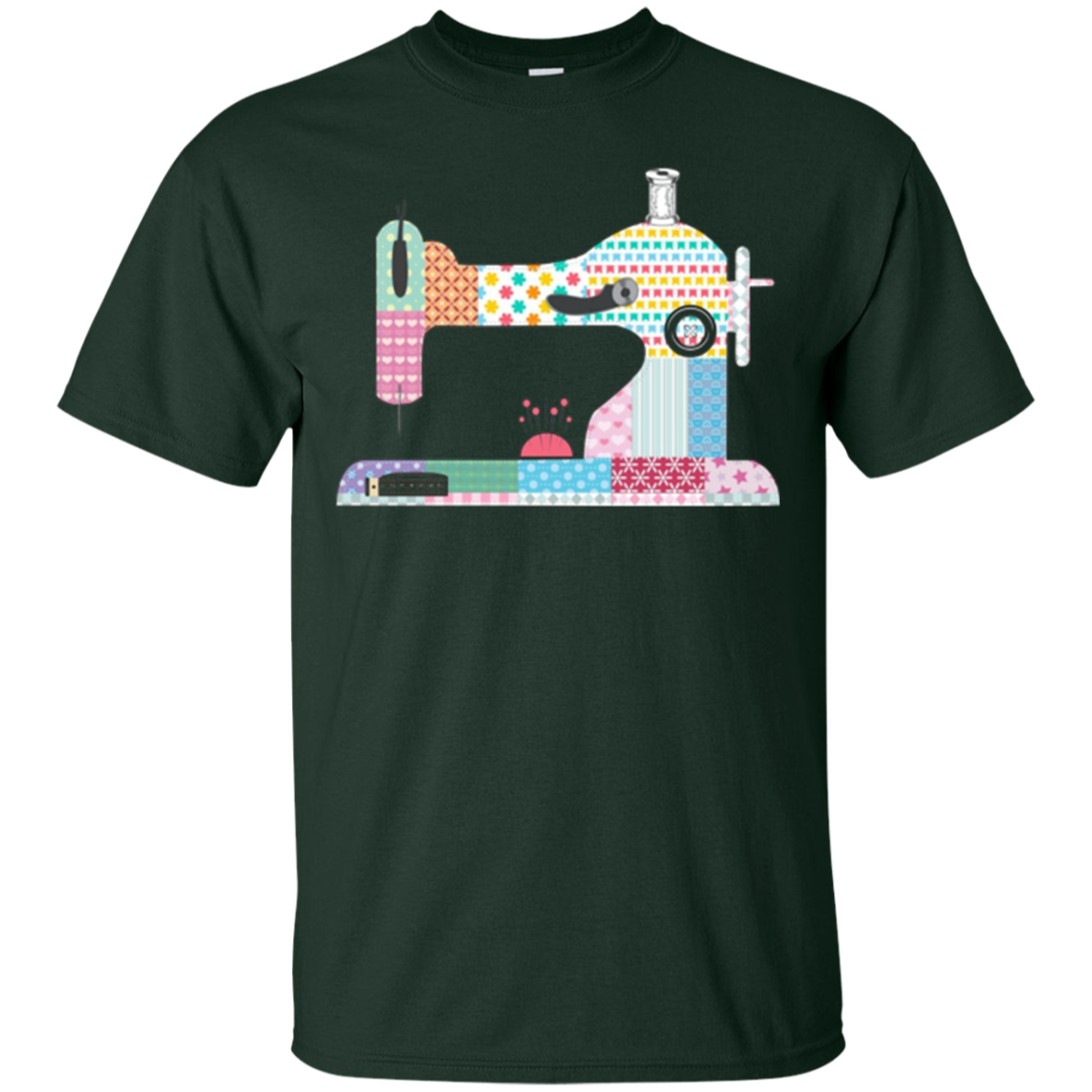 Sewing Machine I Love Quilting Sewing Shirt for Mom Grandma