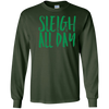 Image of Sleigh All Day Funny Christmas Mom Holiday Party Shirt