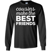 Image of Cousins Make The Best Friends T-Shirt Funny Gift Shirt