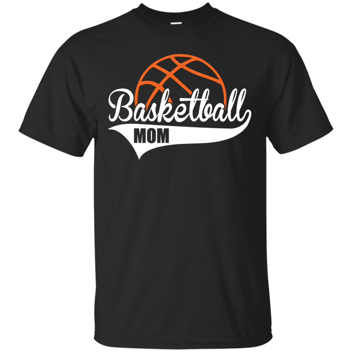 Basketball Mom T-Shirt Matching Family Basketball