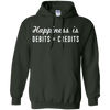 Image of Happiness is Debits = Credits T-Shirt for Accountants