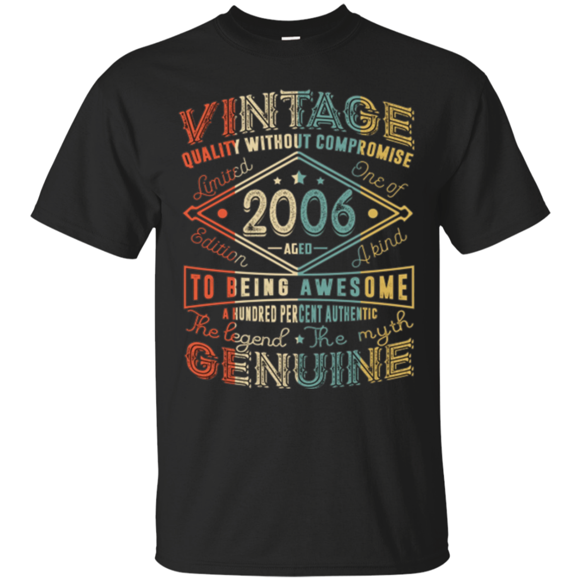 Vintage Genuine Retro Made In 2006 11th Birthday Gift 11 yrs
