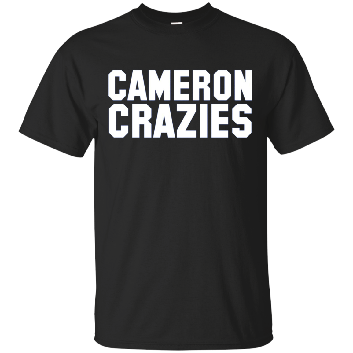 Cameron Crazies Tee | Long Sleeve College Basketball T-Shirt