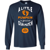 Image of 2018 Pregnancy Announcement Shirt Pumpkin April Baby Tee Gif