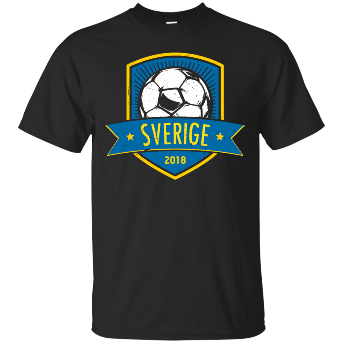 Vintage Sweden Team Shirt 2018