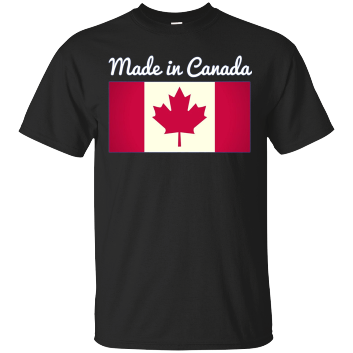Made in Canada Flag Long Sleeve Shirt
