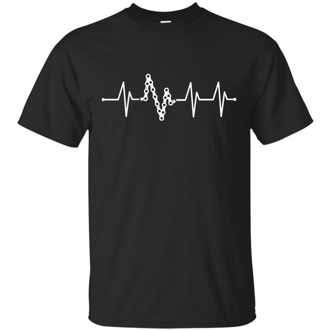 Bike Heartbeat Pulse Shirt - Funny Bike Shirt