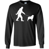 Image of Bigfoot Fun Australian Shepherd Shirt Funny Sasquatch Dog Gi