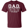 Image of D.A.D. Dads Against Diapers Men's Humor Funny T Shirt