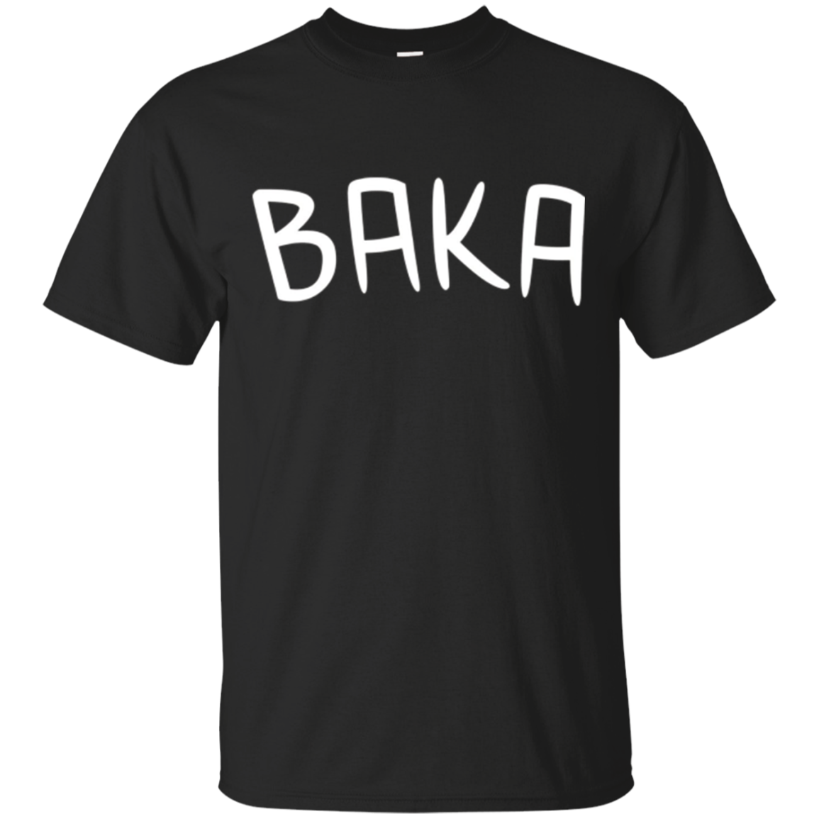 Baka Shirt, Funny Cute Anime Manga Japanese Word Gift