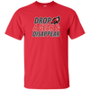 Image of Motorcycle Shirt Drop A Gear And Disappear Funny Biker Tee