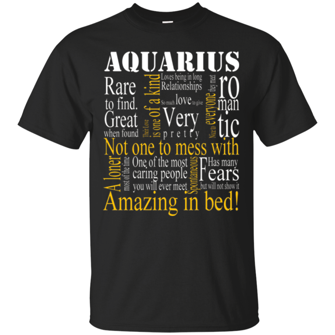 Amazing Aquarius T shirt