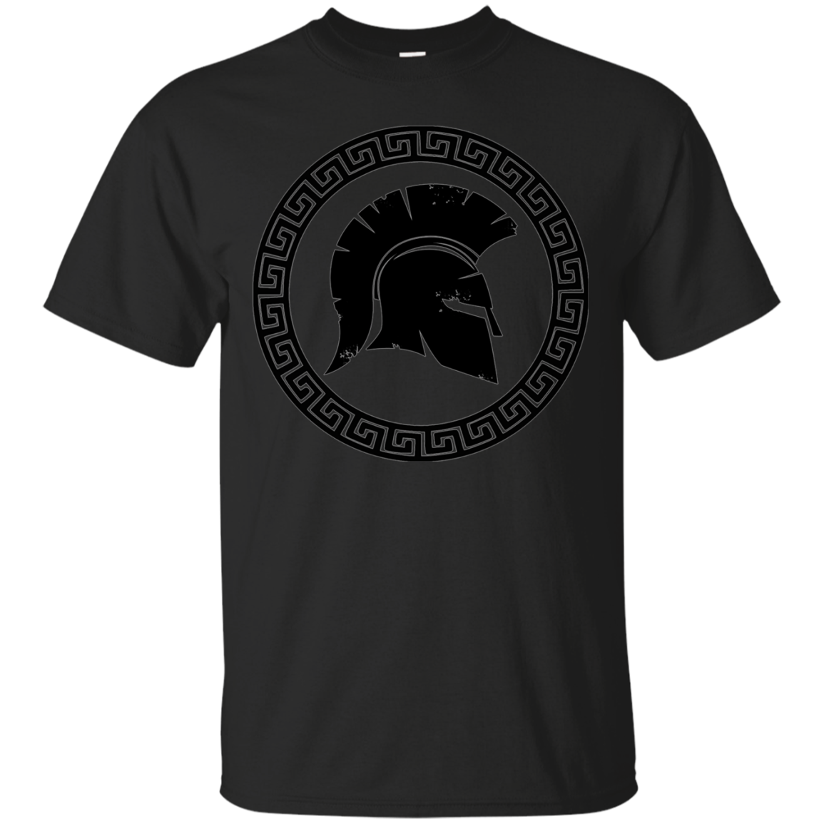 Ancient Sparta Warrior Helmet T-shirt