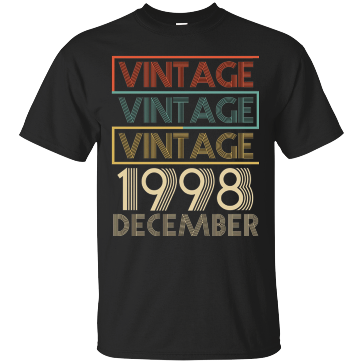 Legends Born In DECEMBER 1998 Vintage Christmas 19 Years Old