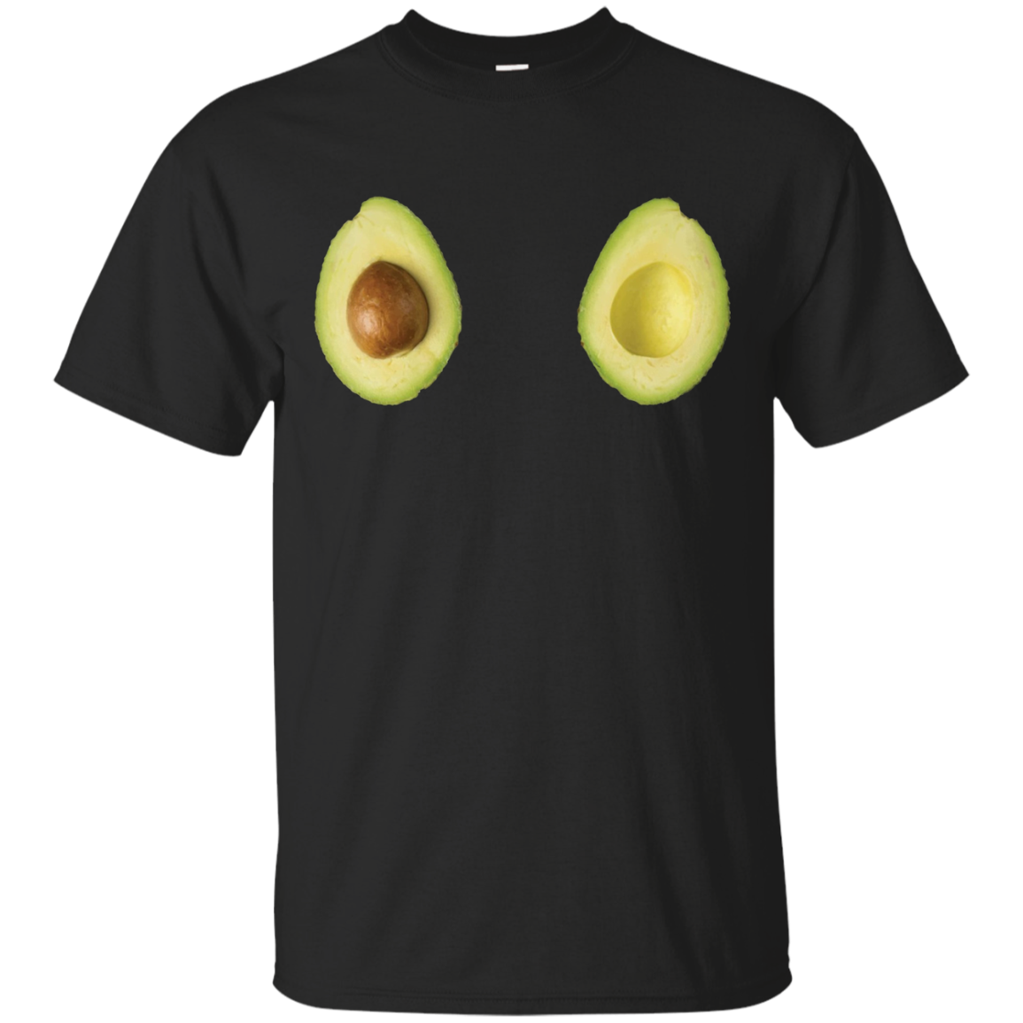 Avocado Graphic Gift T-Shirt for Keto and Vegan Diets
