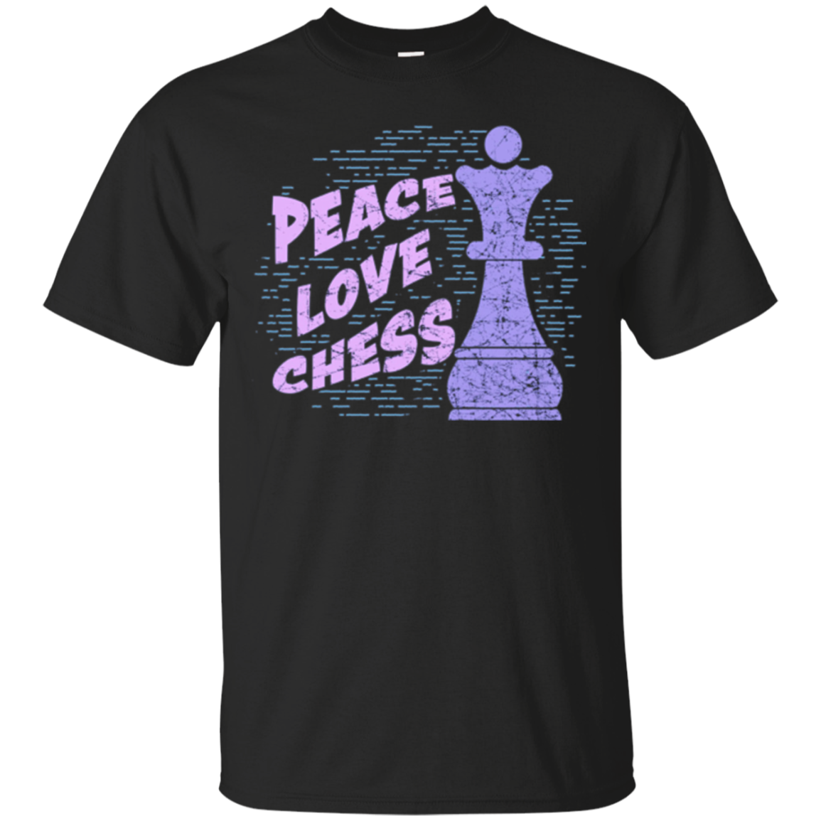 Peace Love Chess T-Shirt Queen Chess Gifts Shirt