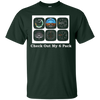 Image of Aviation Airplane T-Shirt - Instrument Check Out My 6 Pack