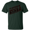 Image of I'd Rather Be Behind Bars DIRT BIKING Motocross Enduro Shirt