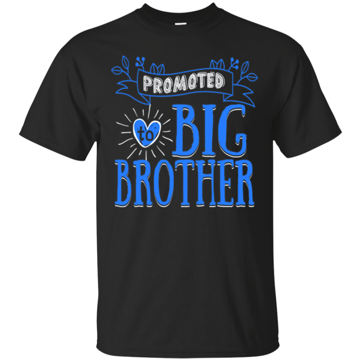 Baby Boy Promoted To Big Brother Shirt Sibling Gifts for Bro