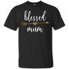 Image of Family Arrow Blessed Mum Shirt Mothers Day Shirt