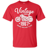 Image of 51th Birthday Vintage Retro Motorcycle 1967 Rider T-shirt