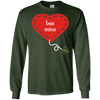 Image of romantic valentine bee mine cute graphic t-shirt tee shirt