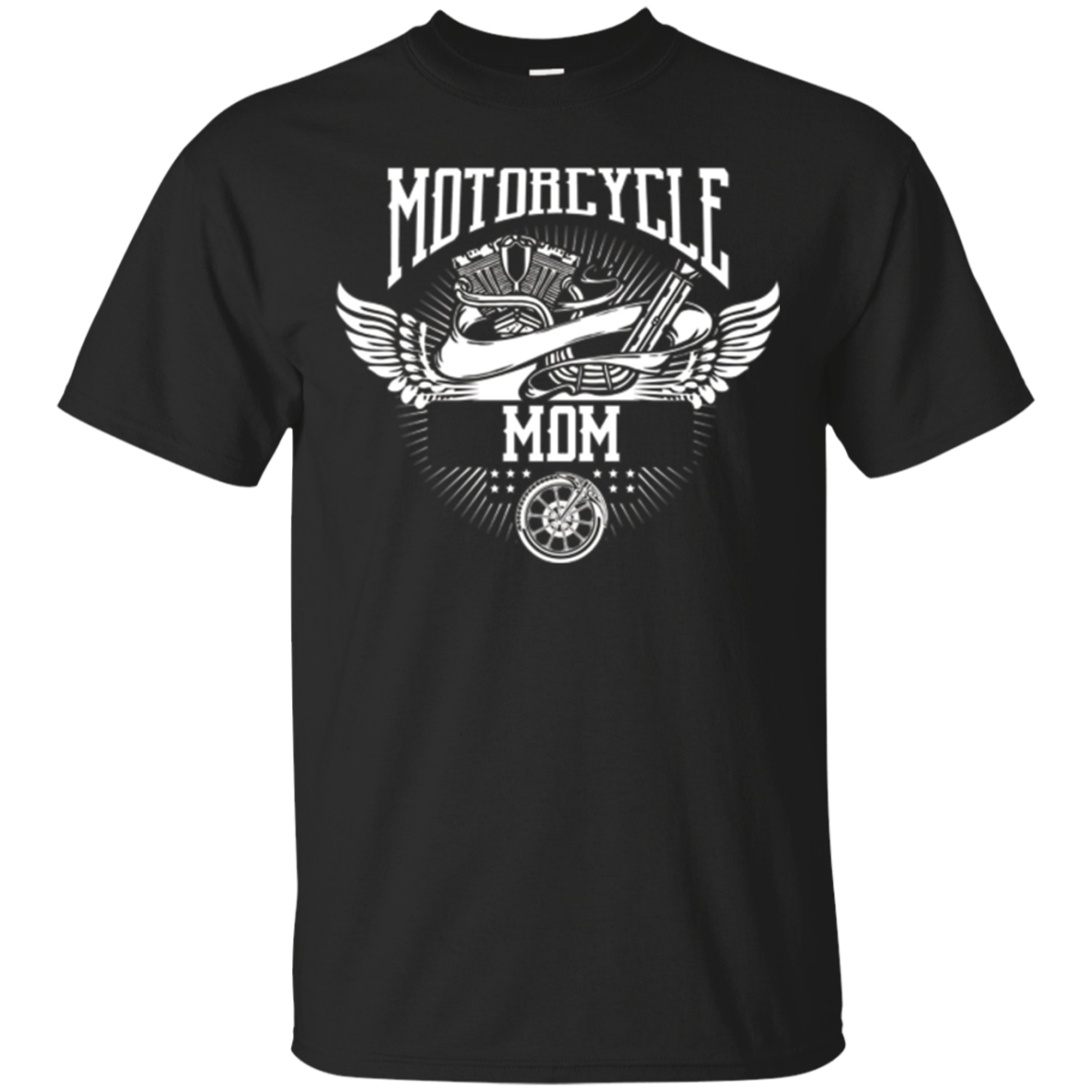 Motorcycle Mom Biker T-shirt