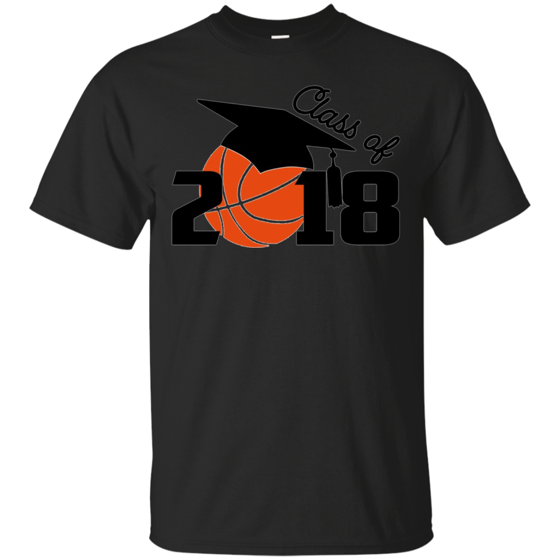 Graduation Senior Class Of 2018 Basketball T-Shirt