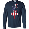 Image of american flag disc golf shirt - usa flag disc golf shirt