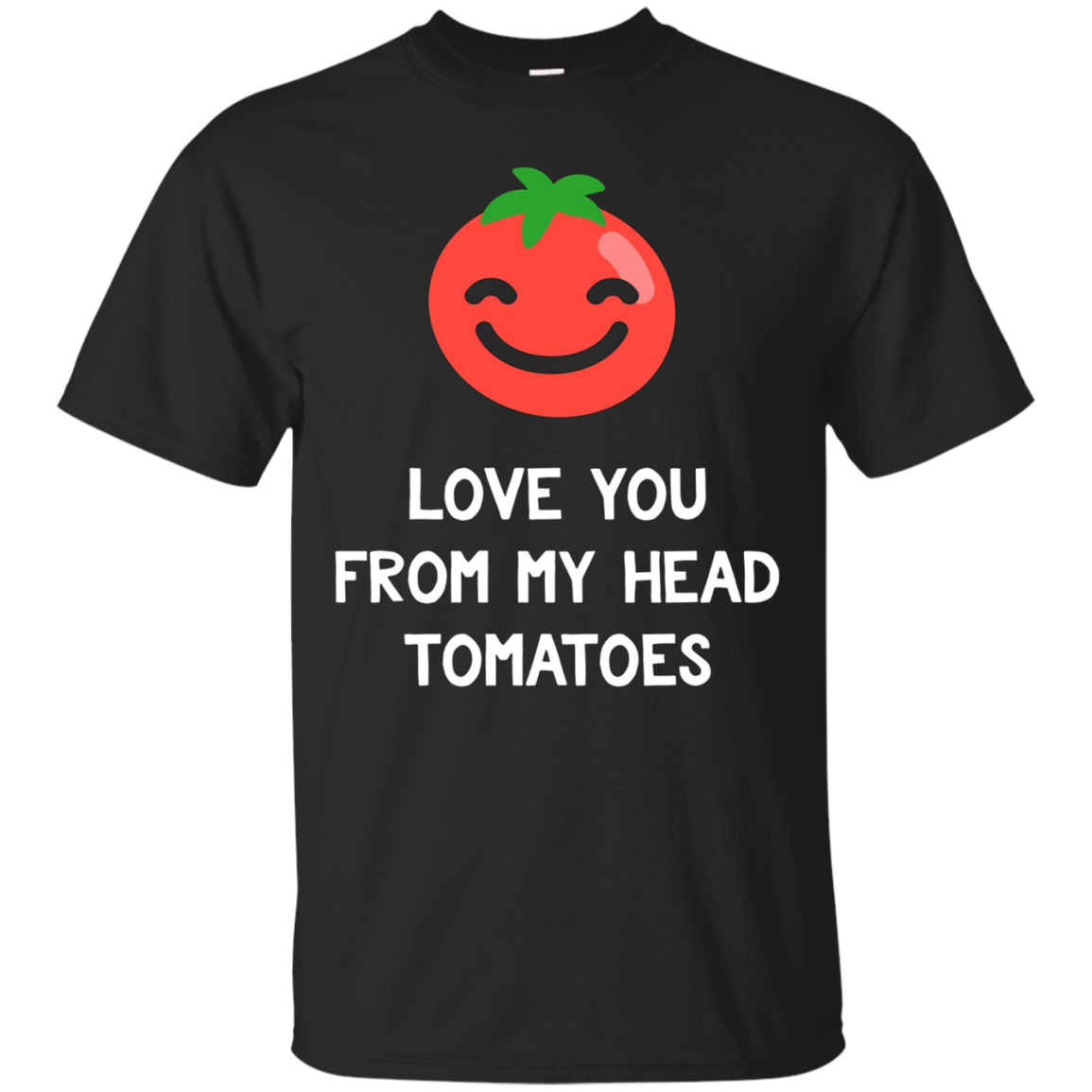 Funny Tomato Shirt From My Head Tomatoes Vegetable T-Shirt