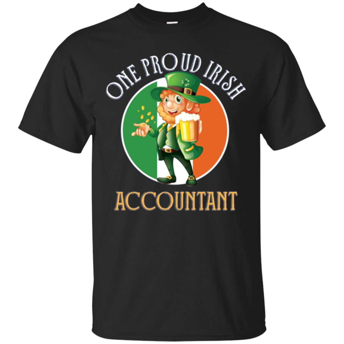 One Proud Irish Accountant LS Shirt Irish Gifts Paddy's Day