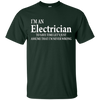 Image of Funny Electrician Quotes T-Shirt, Electrician Job Title Gift