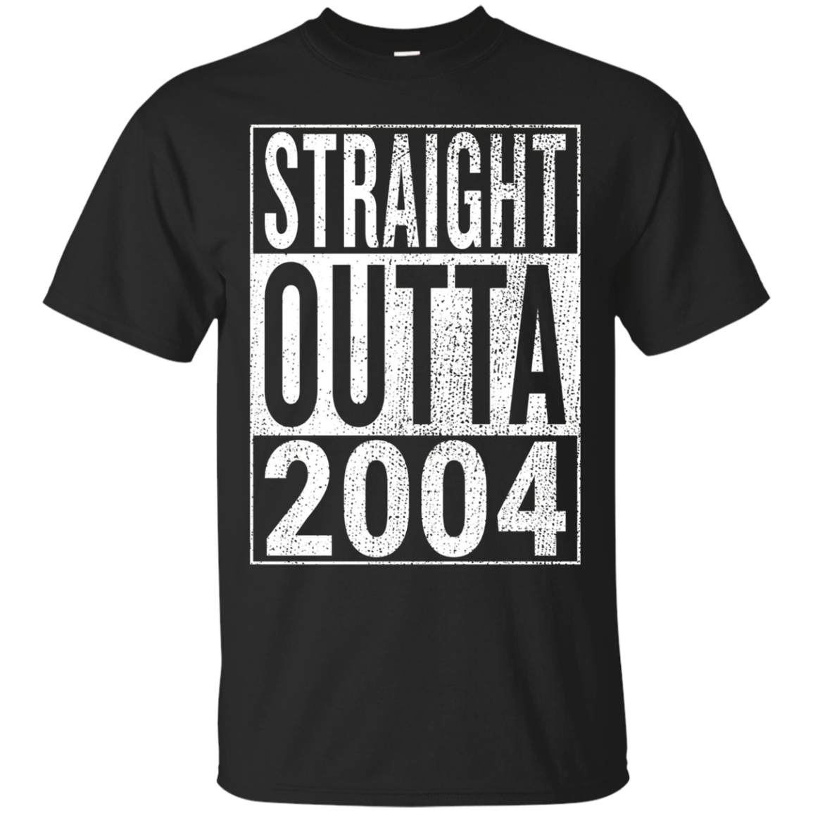Straight Outta 2004 | Great 14th Birthday Gift Idea t-shirt