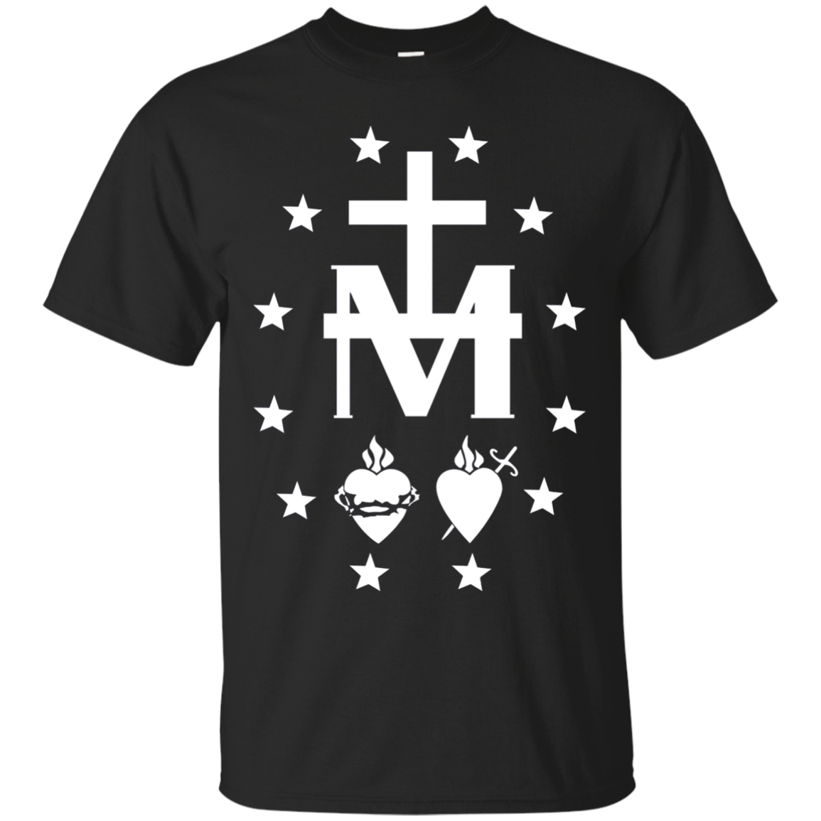 Miraculous Medal Catholic Blessed Virgin Mary T-Shirt