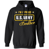 Image of I'm A Proud Army Brother T-shirt