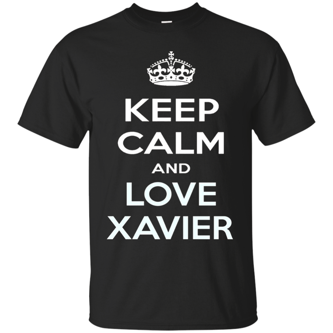 Keep Calm and Love Xavier T-shirt