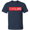 Image of Bicycle Cycling Exercise T-Shirt